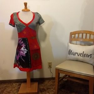 """Pretty Girl"" vneck dress"
